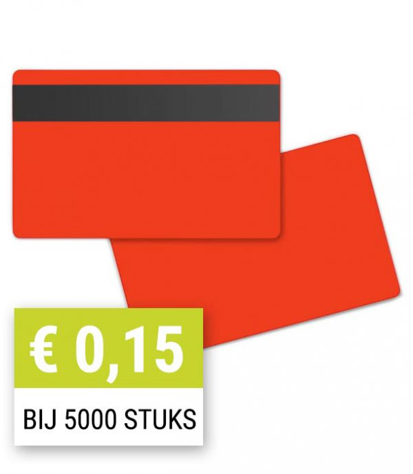 Blanco-magneetkaart-0-76-mm-rood-HiCo-PPC