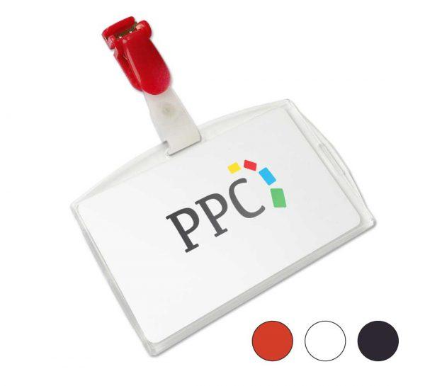Bretel-clip-badgehouder-voor-pasjes-frosted-rood-wit-zwart_ppc