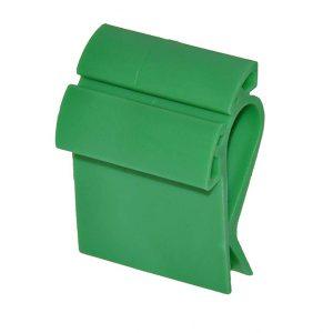Prijskaarthouder clip breed groen