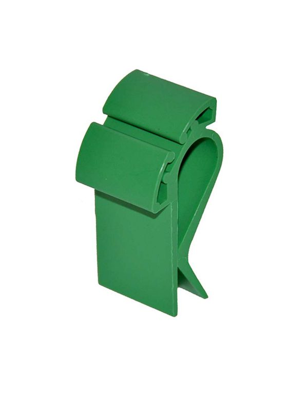 Prijskaarthouder-clip-smal-groen