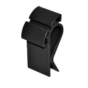 Prijskaarthouder-clip-smal-zwart