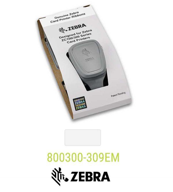 Zebra lint wit 800350-309EM