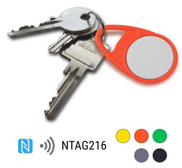 keyfob-NFC-Tag-NTAG216-Drop-PPC-sleutelhanger