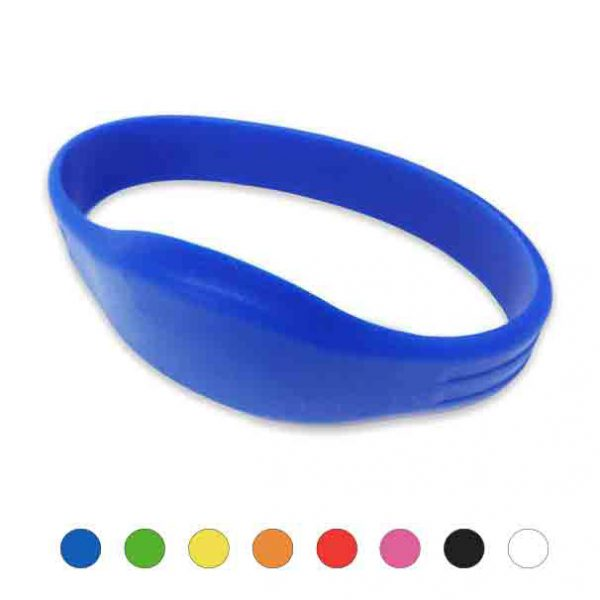 Mifare Polsbandje IDENTband Siliconen blauw