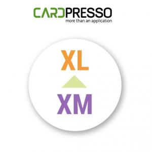 Upgrade CardPresso XM naar XL
