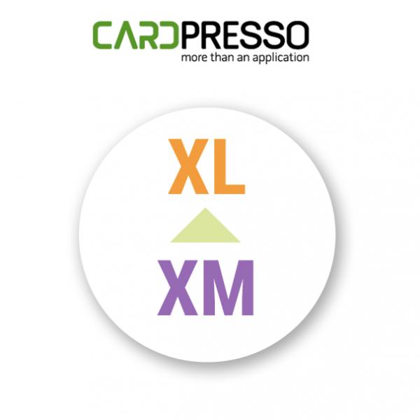 Cardpresso upgrade van xm naar xl