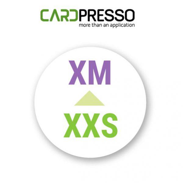 Cardpresso upgrade van XXS naar XM